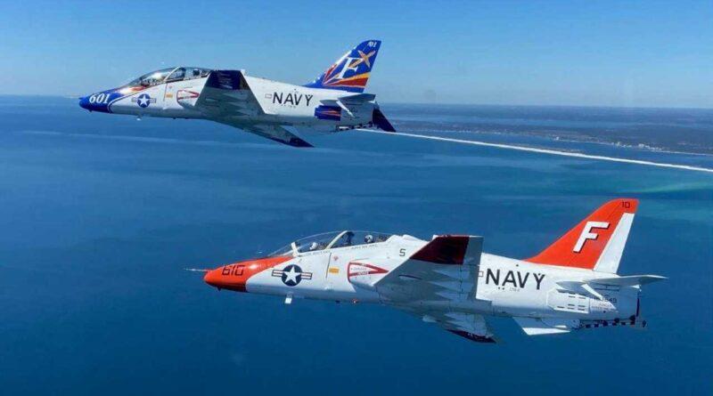 El Escuadrón de Entrenamiento 86 cambia de comando en NAS Pensacola
